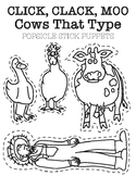 Click, Clack, Moo: Cows That Type Puppets