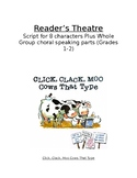 Click, Clack, Moo Cows That Type Reader's Theatre