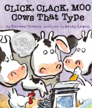 Click Clack Moo Cows That Type Reader's Theater