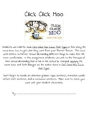 Click Clack Moo:Cows That Type - Using 6 Trait Writing to