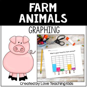 Graphing- Farm Animals- Freebie