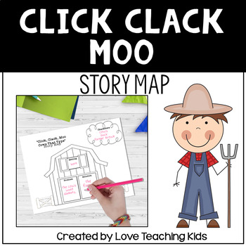 Story Map- Click Clack Moo Cows That Type