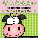 Click, Clack Moo & Cows Too!  A Fiction and Non-fiction Mini Farm Unit