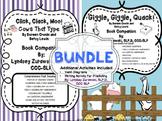Click, Clack, Moo & Giggle, Giggle, Quack Bundle of Companions