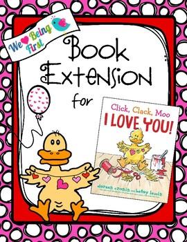 Click,Clack,Moo I Love You Book Extension 1-2