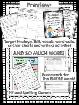 Click, Clack, Moo Journeys 2nd Grade (Unit 3 Lesson 11) Supplemental Activities
