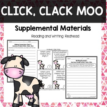 Click, Clack, Moo-  Journeys Second Grade Week 11