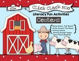 Click Clack Moo Literacy Fun - Oral Language, Writing Centers and Activities