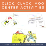 Literacy Center Activities Click Clack Moo - Storybook Companion