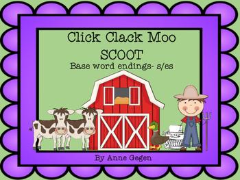 Click Clack Moo Plural SCOOT S/ES