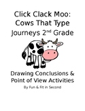 Click Clack Moo Point of View and Drawing Conclusions Activity