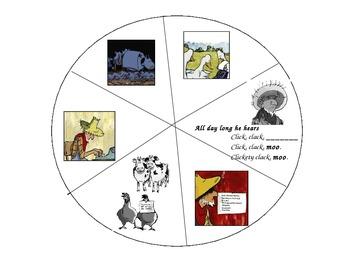 Click Clack Moo Story Wheel