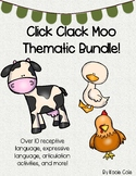 Click Clack Moo {THEMATIC BUNDLE!}