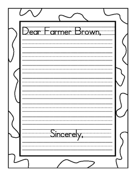 Click, Clack Moo: Write a Friendly Letter to Farmer Brown