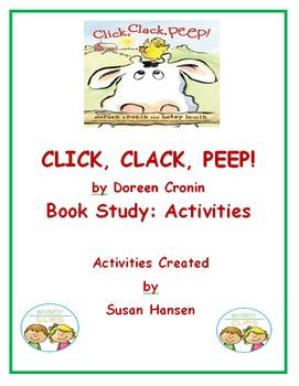 Click Clack Peep:  Book Study Activities