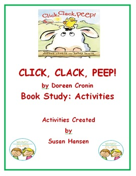 Click Clack Peep:  Book Study Activities