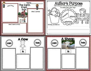 Click, Clack, Peep (Mini Book Companion with paired nonfiction activities)