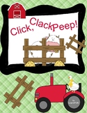 Click, Clack, Peep! by Doreen Cronin and Betsy Lewin