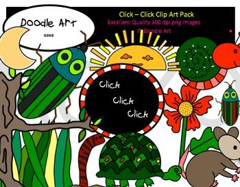 Click Click Clipart Pack