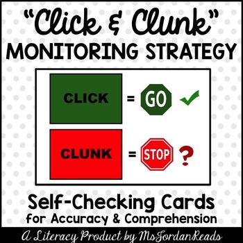 Click & Clunk: A Self-Check Strategy (Student Cards)