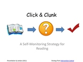 Click & Clunk: A Self-Check Strategy