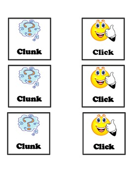 Click-Clunk Reading Strategy