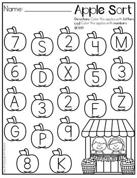 FREE Back to School Activities for Kindergarten