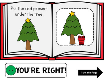 Click It Colors: Tis the Season {Interactive, No Print}
