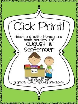 Click Print! August & September