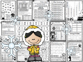 Click Print: Winter Common Core Grade 2