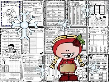Click Print: Winter Common Core Grade 2