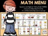 "Digital Math Centers: Click and ""Chews"" Grade 3 OA BUNDLE"