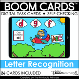 Click and Listen Lowercase Letter Recognition Boom Cards f