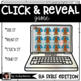 Phonics Game | Click and Reveal digital game | Distant Learning