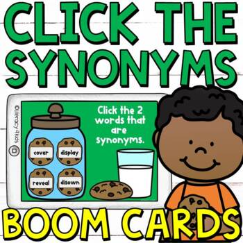 Click the Synonyms Boom Cards (Digital Task Cards)