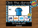 Click the digraph : Digital Task Cards with sound ** Boom