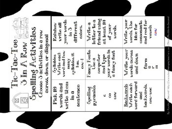 Journeys Click,Clack,Moo: Cows That Type:3.1 Les. 11 Spelling & Vocab Activities
