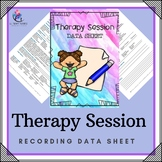 Client Progress Therapy Session Notes Template - Counseling Record Keeping