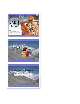 Reading Street Grade 4 Unit 5 Cliff Hanger,Lost,Smokejumpers,Antarctic,Moonwalk