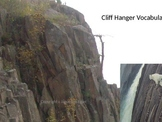 Cliff Hanger Vocabulary