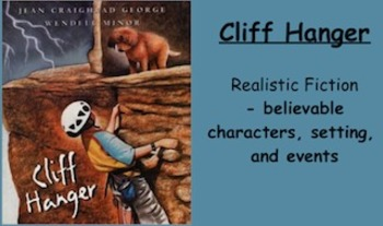 Cliff Hanger Vocabulary Presentation