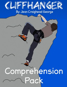 Cliff Hanger (by Jean Craighead George) Comprehension Set