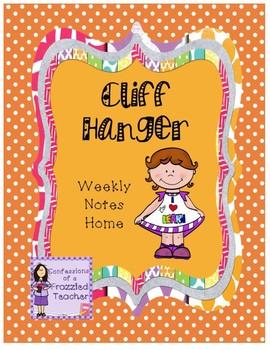 Cliff Hanger Weekly Letters (Scott Foresman Reading Street)