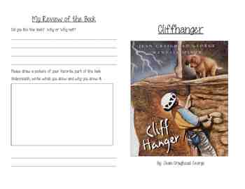 Cliffhanger Activity Booklet