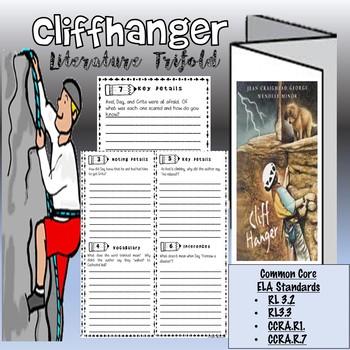 Cliffhanger Literature Trifold