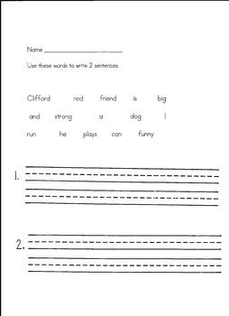 Clifford Beginning Writing