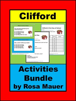 Clifford Literacy Activities Bundle
