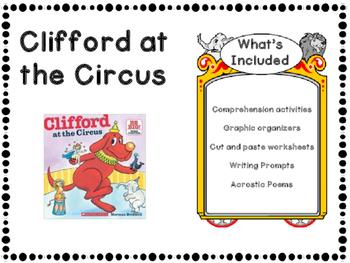Clifford at the Circus Printables