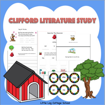Clifford the Big Red Dog Literature Study