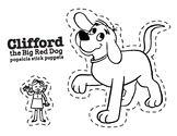 Clifford the Big Red Dog Puppets